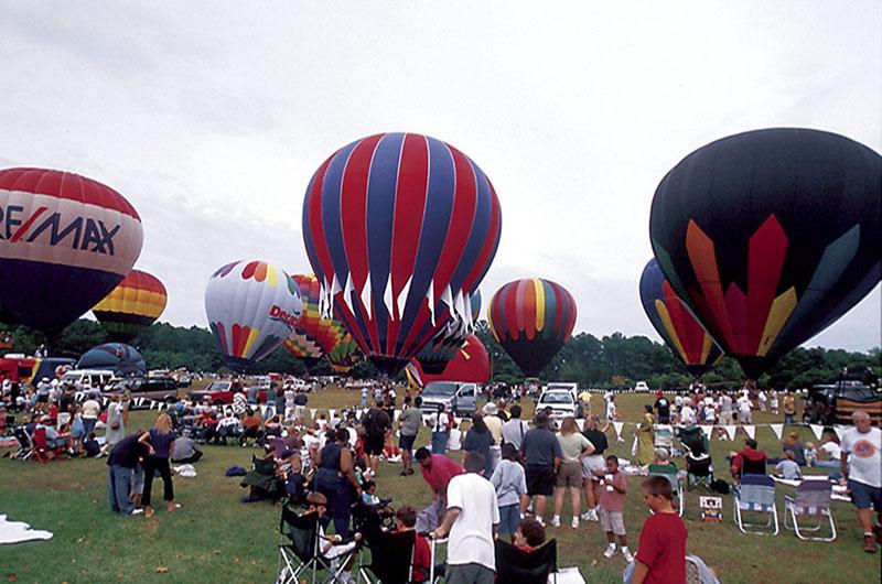 Festival De Globos De Aire Caliente Sky High Que Pasa En Atlanta