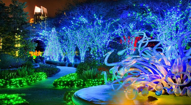 Garden Lights Holiday Nights Que Pasa En Atlanta